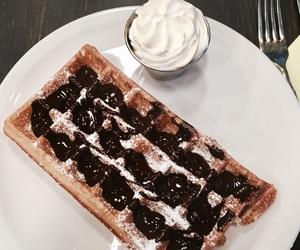 waffle, belgique, and gaufre image