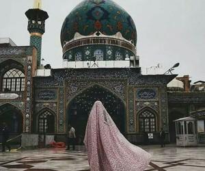 architecture, beautiful, and hijab image