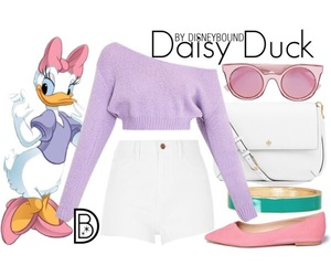 disney, daisy duck, and disneybound image