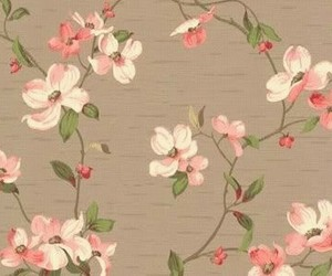vintage, flowers, and background image