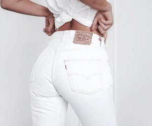 ass, body, and jean image