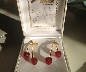 cherry, red, and accessories image