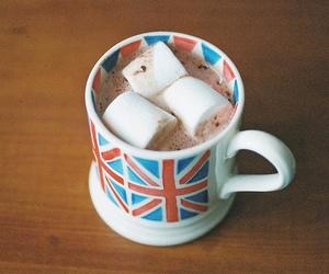 marshmallow, england, and chocolate image