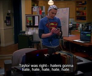 funny, Taylor Swift, and the big bang theory image