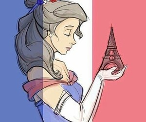 art, belle, and france image