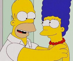 love, homer, and marge image