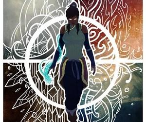 avatar, korra, and elements image