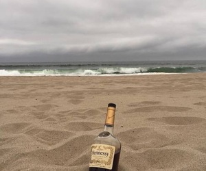 beach, sea, and hennessy image