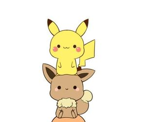 pokemon, kawaii, and pikachu image