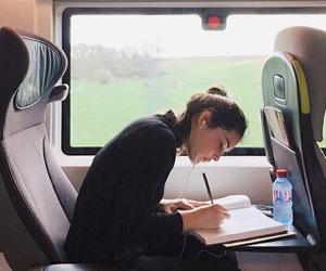 train, study, and travel image