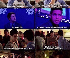 13 reasons why, jeff atkins, and clay jensen image