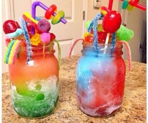 candy and drinks image