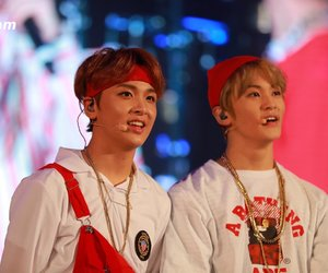 mark, donghyuck, and haechan image