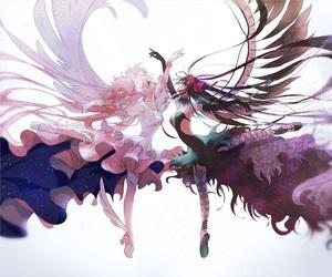 anime, angel, and puella magi madoka magica image