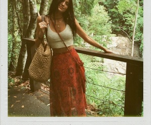 girl, fashion, and hippie image