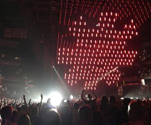 band, concert, and lights image