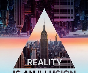 illusion and reality image