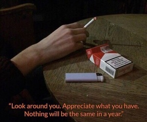 quotes, cigarette, and grunge image