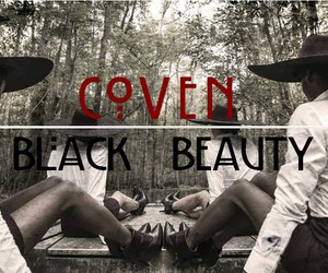 black, ahs, and coven image