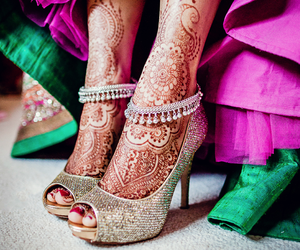 henna, indian, and heels image