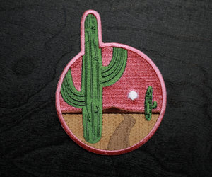 adventure, badge, and embroidered image