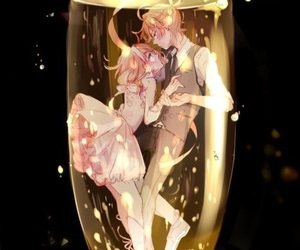anime, vocaloid, and couple image
