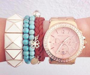 fashion, bracelet, and Michael Kors image
