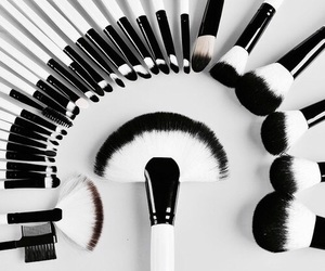 makeup, Brushes, and style image