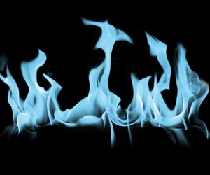 overlay, fire, and edit image