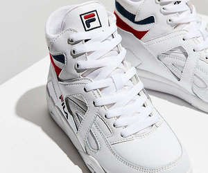 Fila, sneaker, and elastic back cage image