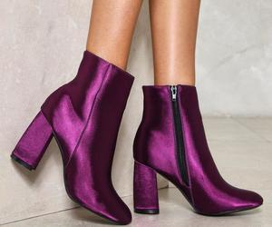 bootie, satin, and festival image