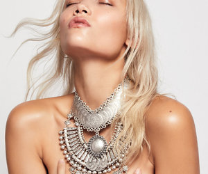 jewelry, good vibrations, and metal collar image