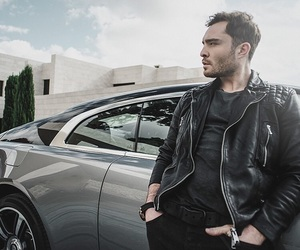 car, chuck bass, and ed westwick image