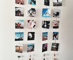 beach, photo wall, and diy image