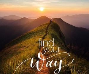 sunrise, future, and find your way image
