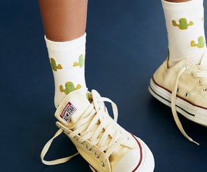 cacti, cactus, and sock image