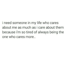 caring, life, and quotes image
