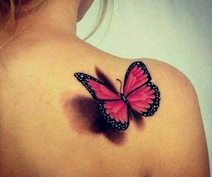 butterfly, ladysuzanne, and tatoo image