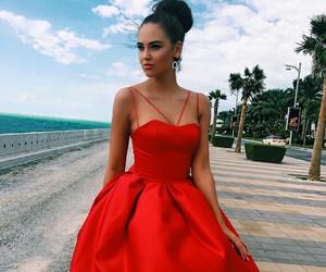 dress, dresses, and fashionista image