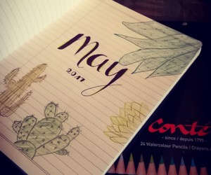 may, bujo, and bullet journal image