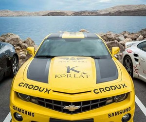 Chevrolet Camaro, Croatia, and supercar image