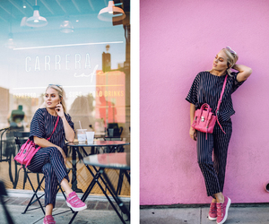 fashion, los angeles, and pink image
