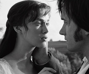 pride and prejudice, mr darcy, and keira knightley image