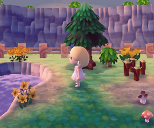 animal crossing, game, and mermaid image