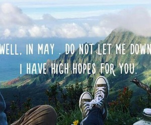 adventure, hope, and quote image