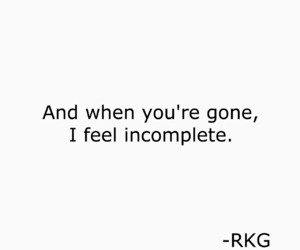 alone, it hurts, and sad image