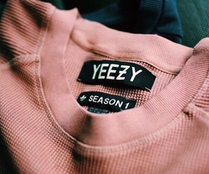 yeezy, pink, and rose gold image