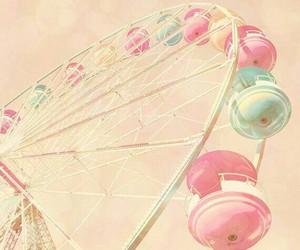 amusement park, color, and pastel image