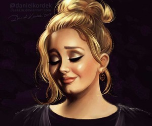 Adele, beautiful, and love image
