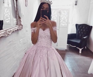 fashion, dress, and princess image